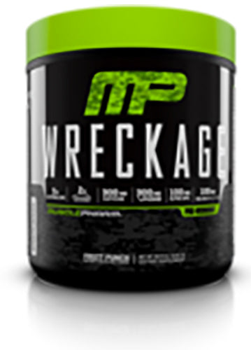 Shop MusclePharm Wreckage, Fruit Punch, 25 Serving online  sports-nutrition-pre-workout-supplements