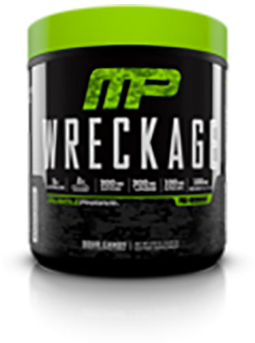 Shop MusclePharm Wreckage, Sour Candy, 25 Serving online  sports-nutrition-pre-workout-powders