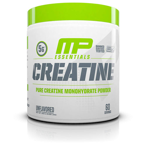 Shop MusclePharm Essentials Creatine, Unflavored, 60 Serving online  creatine-nutritional-supplements