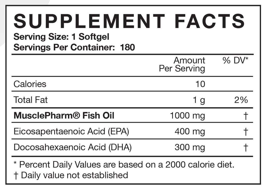 Essentials Fish Oil