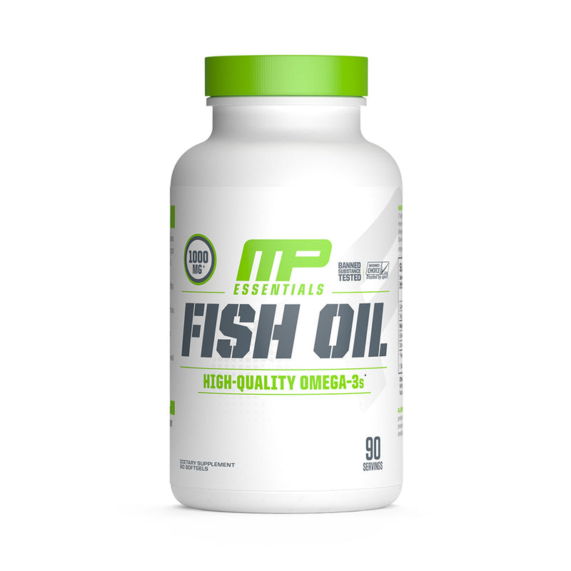 Shop MusclePharm Essentials Fish Oil, 90 Softgel online  fish-oil-nutritional-supplements