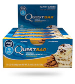 Shop Quest Nutrition Quest Bar, Vanilla Almond Crunch, 12 Count online  sports-nutrition-protein-bars