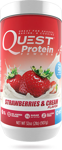 Shop Quest Nutrition Quest Protein Powder, Strawberries & Cream, 2 Pound online  sports-nutrition-whey-protein-powders