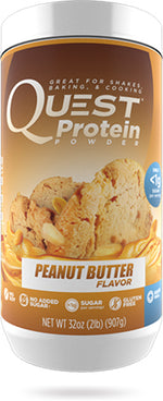 Shop Quest Nutrition Quest Protein Powder, Peanut Butter, 2 Pound online  sports-nutrition-whey-protein-powders