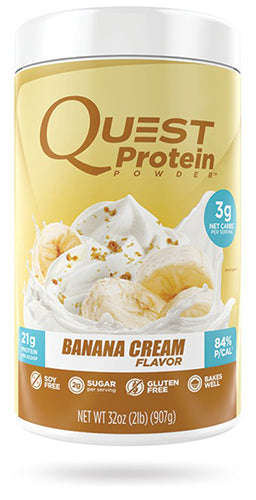 Shop Quest Nutrition Quest Protein Powder, Banana Cream, 2 Pound online  sports-nutrition-whey-protein-powders