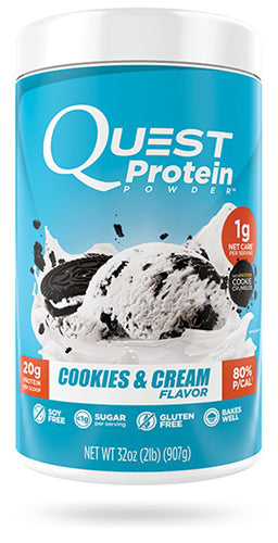 Shop Quest Nutrition Quest Protein Powder, Cookies & Cream, 2 Pound online  sports-nutrition-whey-protein-powders