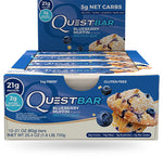 Shop Quest Nutrition Quest Bar, Blueberry Muffin, 12 Count online  sports-nutrition-protein-bars