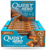 Shop Quest Nutrition Hero Bar, Chocolate Caramel Pecan, 10 Count online  sports-nutrition-protein-bars
