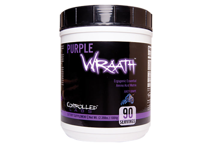 Shop Controlled Labs Purple Wraath, Juicy Grape, 90 Serving online  sports-nutrition-pre-workout-supplements