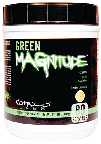 Shop Controlled Labs Green Magnitude, Electric Lemonade, 80 Serving online  antioxidant-formula-nutritional-supplements