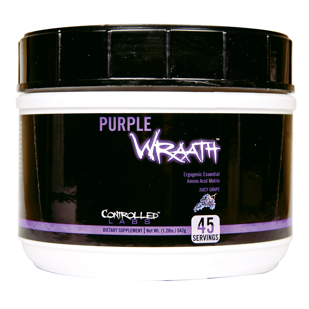 Shop Controlled Labs Purple Wraath, Juicy Grape, 45 Serving online  sports-nutrition-pre-workout-supplements