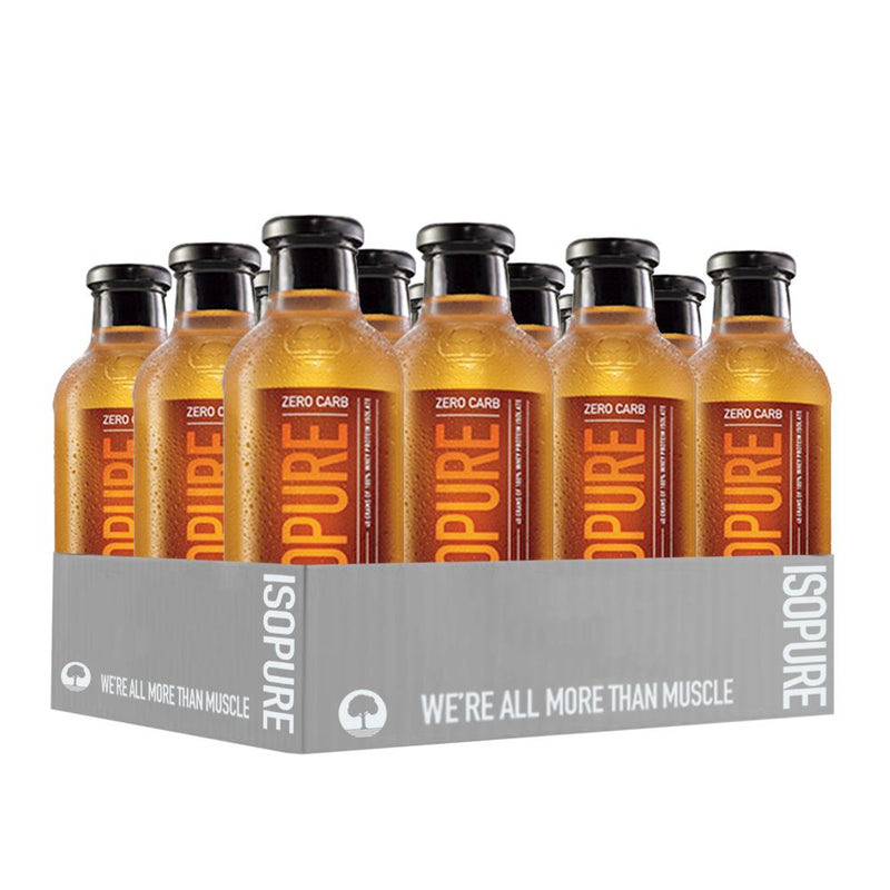 Shop Nature's Best Zero Carb Isopure Ready-To-Drink, Icy Orange, 20 Fluid Ounce (Pack Of 12) online  sports-nutrition-ready-to-drink-protein