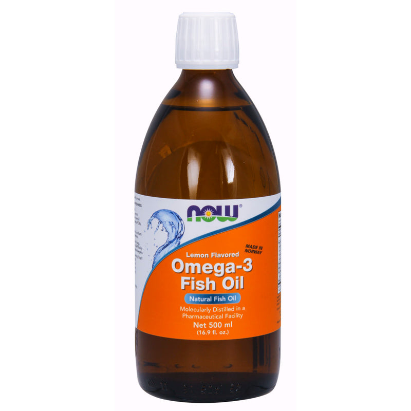 Shop NOW Foods Omega-3 Fish Oil, 16.9 Fluid Ounce (RH) online  omega-3-nutritional-supplements