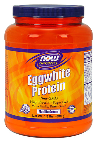 Shop NOW Foods EggWhite Protein, Vanilla Creme, 1.5 Pound online  sports-nutrition-protein-powders