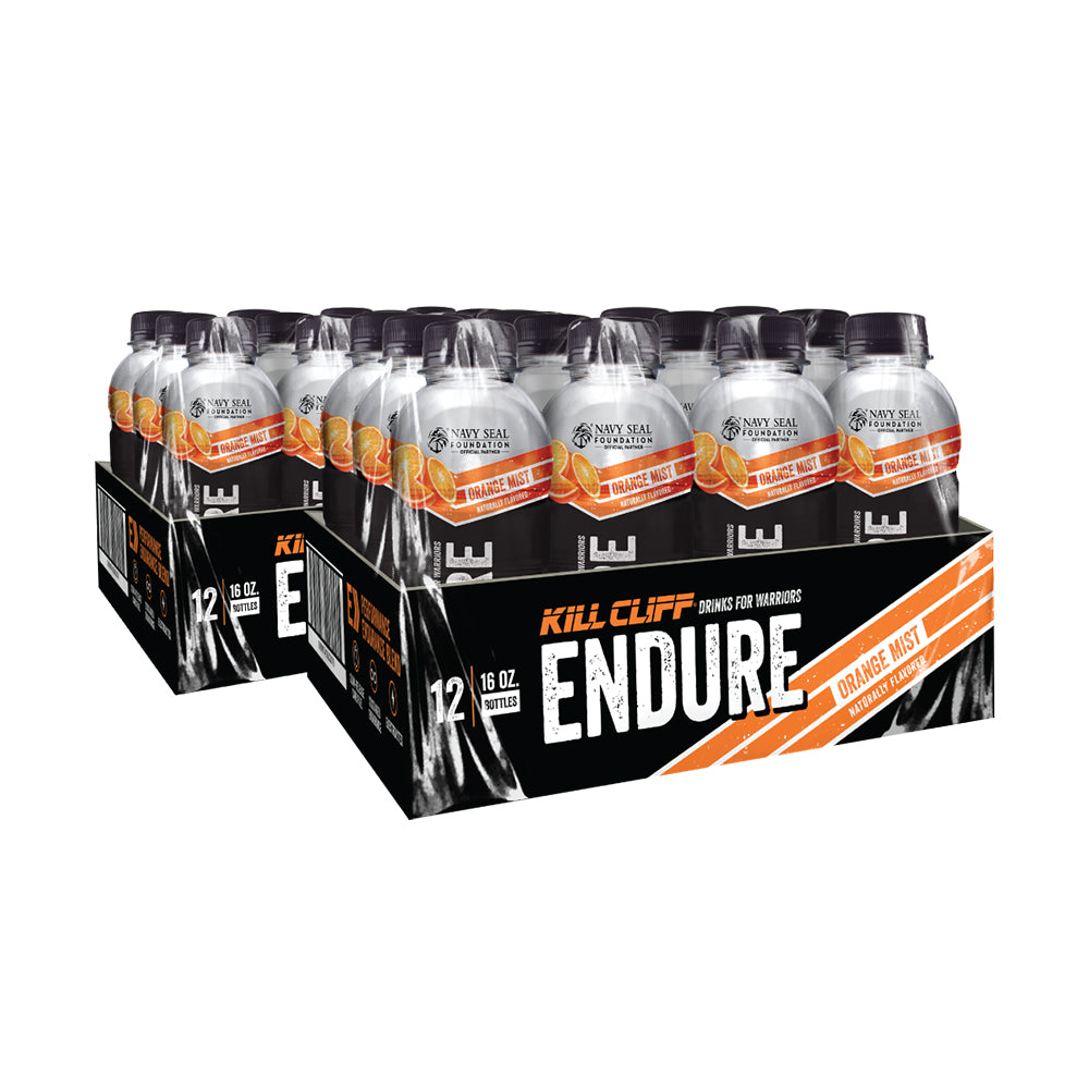 Shop Kill Cliff Endure, Orange Mist, 24 Count online  sports-nutrition-endurance-and-energy-drinks