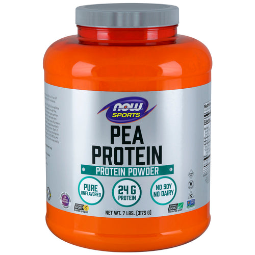 Shop NOW Foods Pea Protein, Natural Unflavored, 7 Pound (RH) online  sports-nutrition-pea-protein-powders