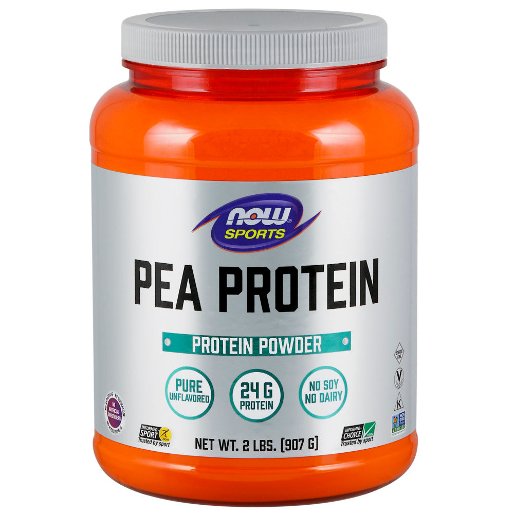 Shop NOW Foods Pea Protein, Natural Unflavored, 2 Pound (RH) online  sports-nutrition-pea-protein-powders