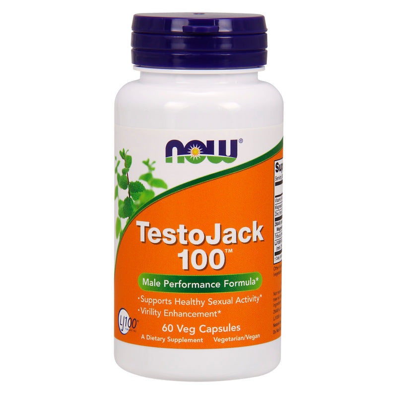 Shop NOW Foods TestoJack 100, 60 Vegetable Capsule (RH) online  horny-goat-weed-herbal-supplements