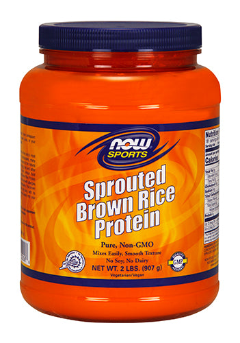 Shop NOW Foods Sprouted Brown Rice Protein, 2 Pound online  sports-nutrition-rice-protein-powders