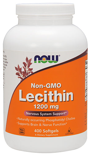Shop NOW Foods Lecithin 1200 mg, 400 Softgel online  lecithin-nutritional-supplements