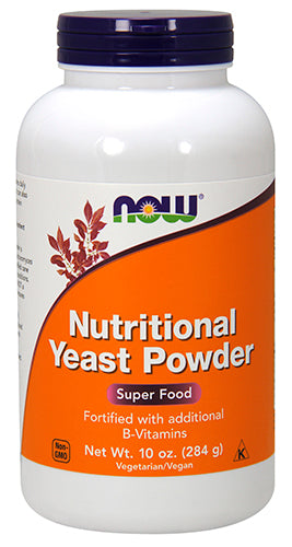Shop NOW Foods Nutritional Yeast, 10 Ounce online