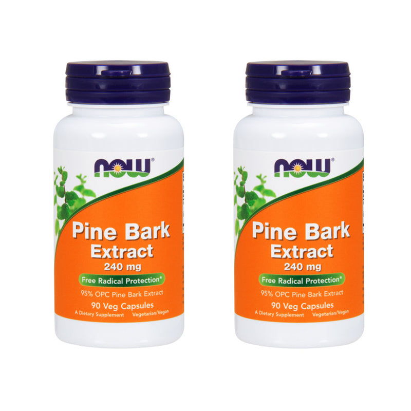 Shop NOW Foods Pine Bark Extract 240 mg, 90 Vegetable Capsule (2 Pack) (RH) online  pycnogenol-nutritional-supplements