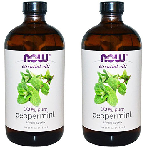 Shop NOW Foods Peppermint Oil, 16 Fluid Ounce (2 Pack) (MB) online  essential-oil-singles