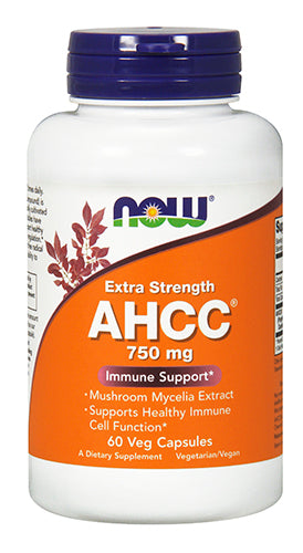 Shop NOW Foods AHCC(R) 750 mg, 60 Vegetable Capsule online  mushroom-herbal-supplements