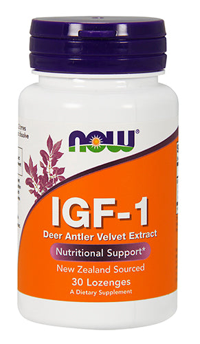 Shop NOW Foods IGF-1, 30 Lozenge online  sports-nutrition-testosterone-boosters