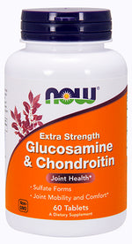 Shop NOW Foods Glucosamine & Chondroitin, 60 Tablet online  glucosamine-nutritional-supplements