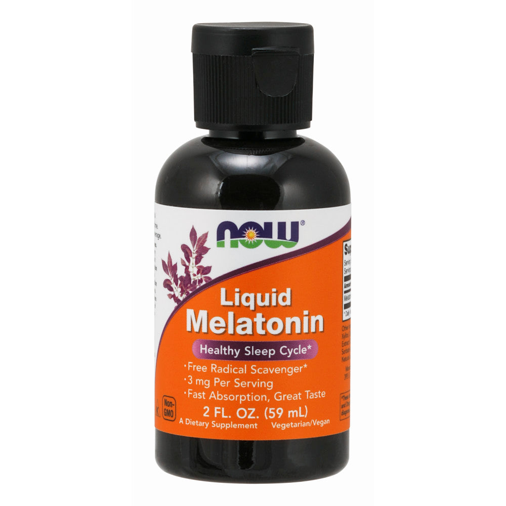 Shop NOW Foods Liquid Melatonin, 2 Fluid Ounce (RH) online  nutritional-supplements