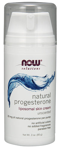Shop NOW Foods Progesterone Cream, 3 Ounce online  vitamins