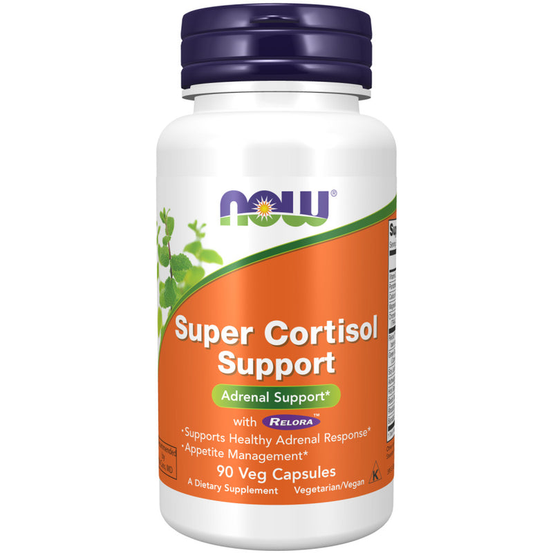 Shop NOW Foods Super Cortisol Support, 90 Vegetable Capsule (RH) online  relora-herbal-supplements