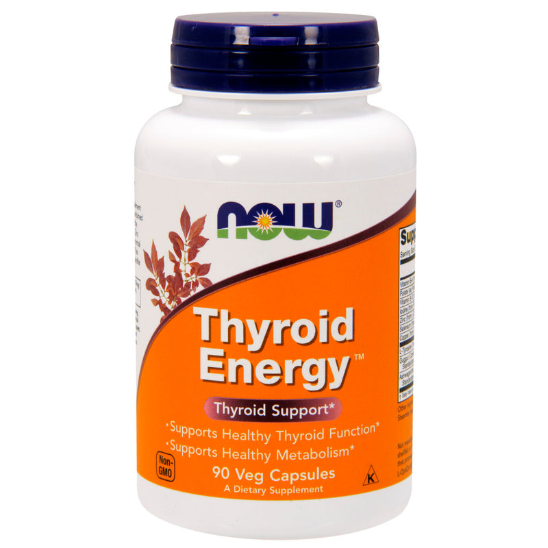 Shop NOW Foods Thyroid Energy, 90 Vegetable Capsule (RH) online  thyroid-extracts