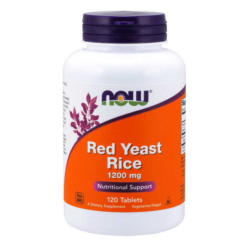Shop NOW Foods Red Yeast Rice 1200 mg, 120 Tablet (RH) online  red-yeast-rice-herbal-supplements