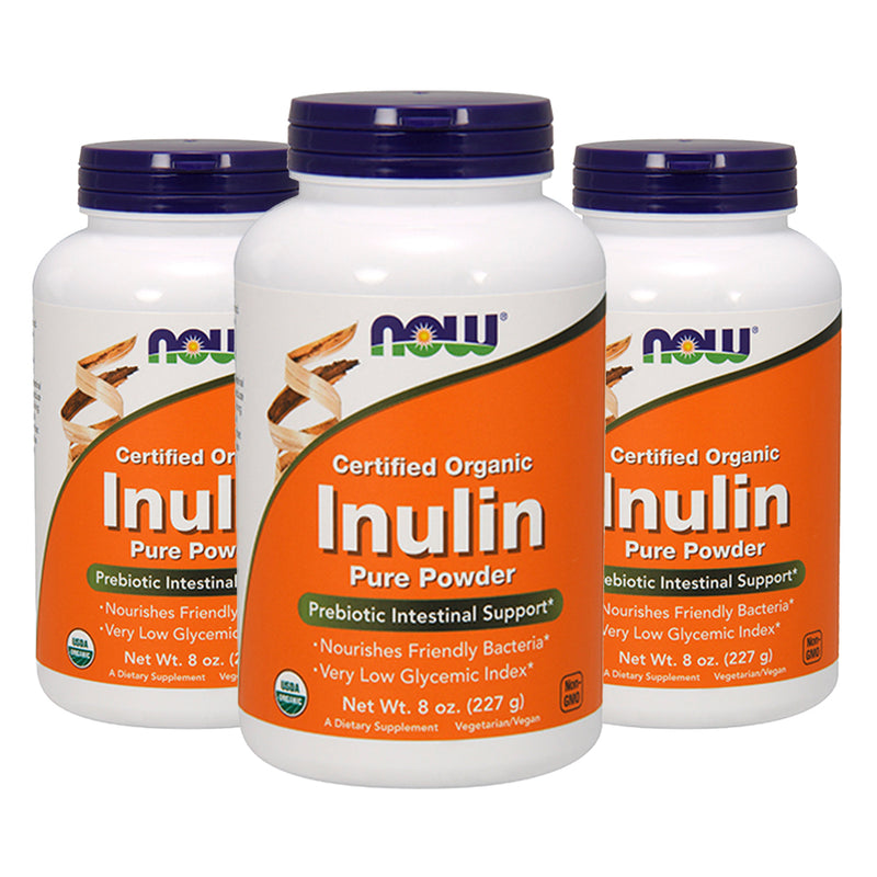 Shop NOW Foods Inulin Powder Pure, 8 Ounce (3 Pack) (RH) online  prebiotic-nutritional-supplements
