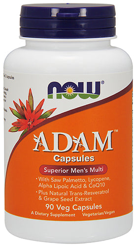 Shop NOW Foods Adam™ Men's Multiple Vitamin, 90 Vegetable Capsule online  multivitamins