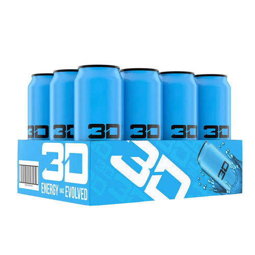 Shop 3D Energy Drinks, Blue, 16 Fluid Ounce (12 Pack) online  energy-drinks