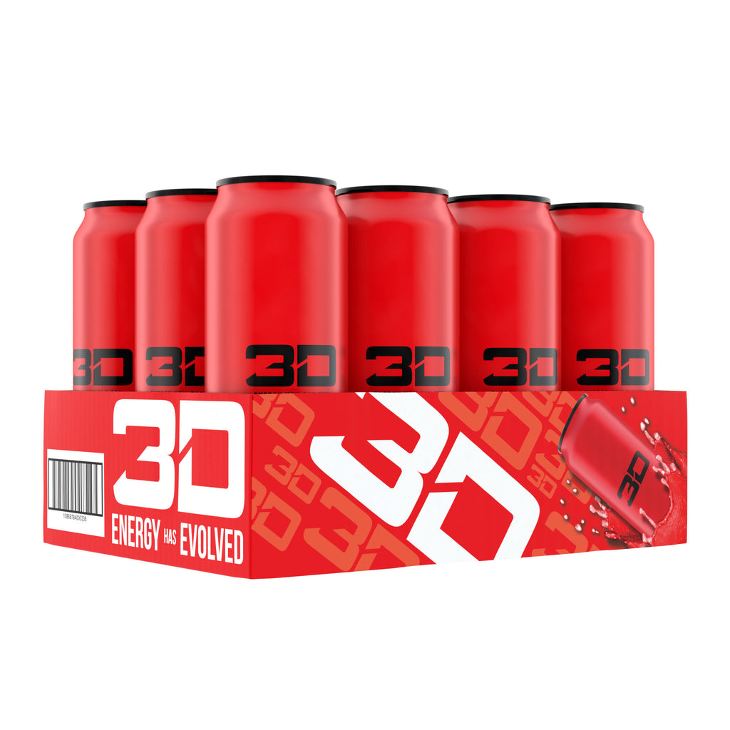 Shop 3D Energy Drinks, Red, 16 Fluid Ounce (12 Pack) online  bottled-and-canned-sports-drinks
