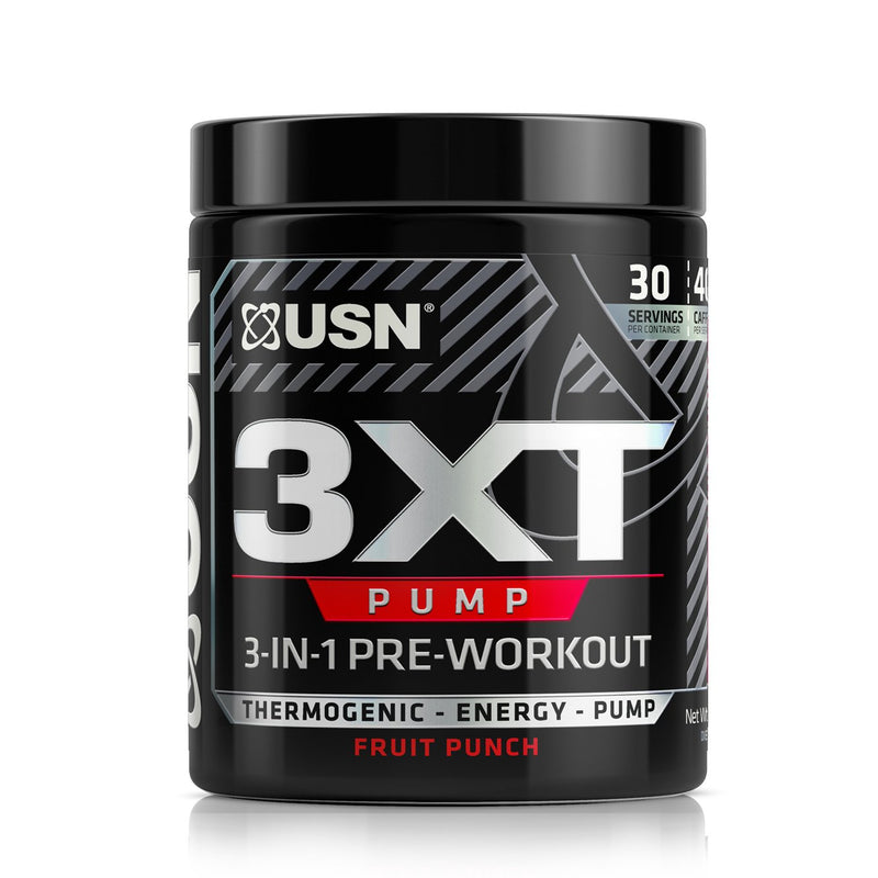 Shop USN 3XT Pump, Fruit Punch, 30 Serving online  sports-nutrition-pre-workout-supplements
