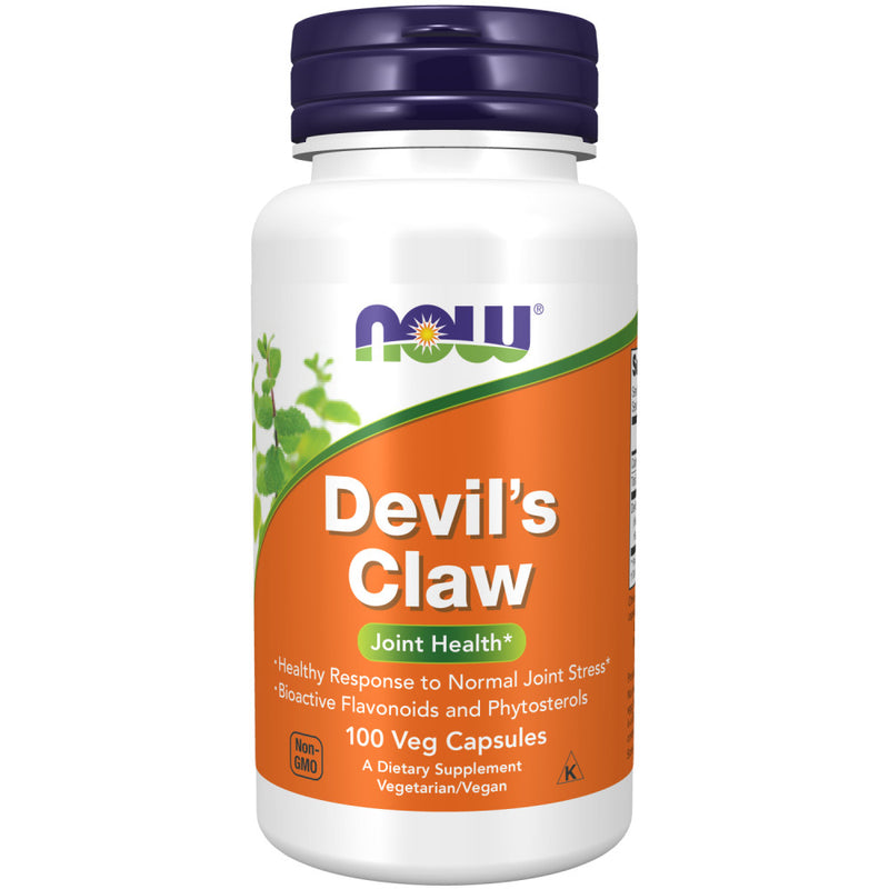 Shop NOW Foods Devil's Claw, 100 Capsule (RH) online  herbal-supplements
