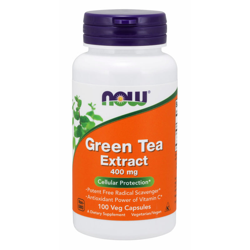 Shop NOW Foods Green Tea Extract, 100 Capsule (RH) online  green-tea-herbal-supplements