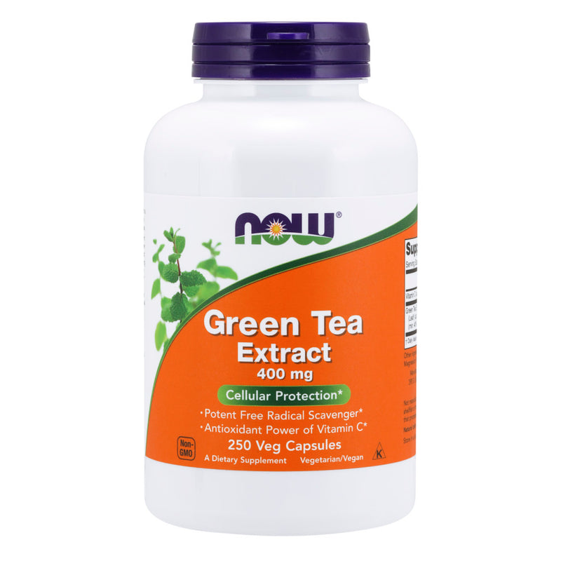 Shop NOW Foods Green Tea Extract, 250 Capsule (RH) online  green-tea-herbal-supplements