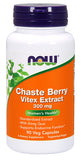 Shop NOW Foods Chaste Berry Vitex Extract, 90 Vegetable Capsule online  nutritional-supplements