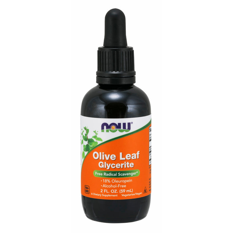 Shop NOW Foods Olive Leaf Glycerite 18% Liquid, 2 Ounce (RH) online  nutritional-supplements