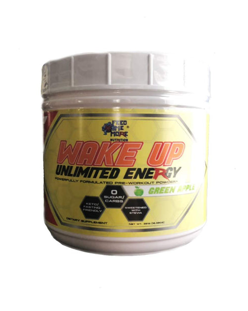 Shop Feed Me More Wake UP, Green Apple, 30 Serving online  sports-nutrition-pre-workout-powders