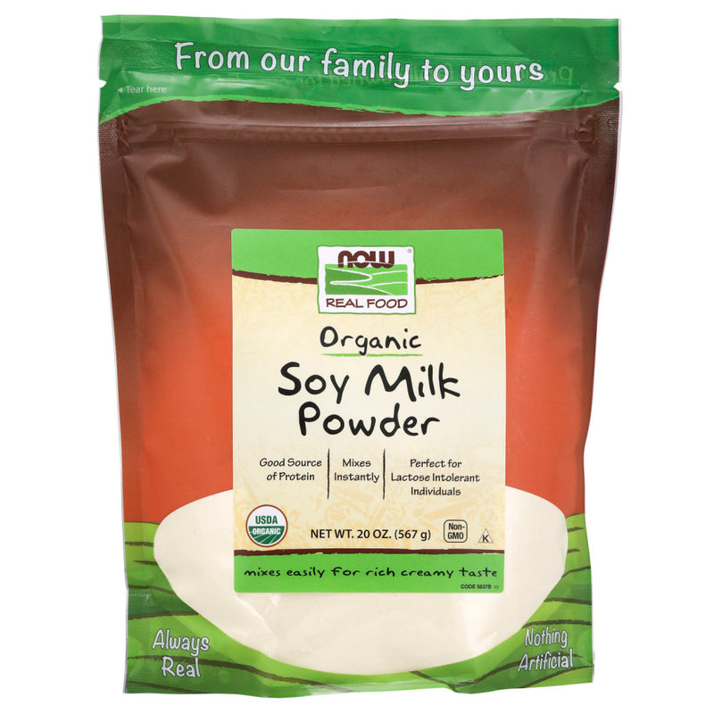 Shop NOW Foods Soy Milk Powder, Organic, 20 Ounce (MB) online  nutritional-supplements