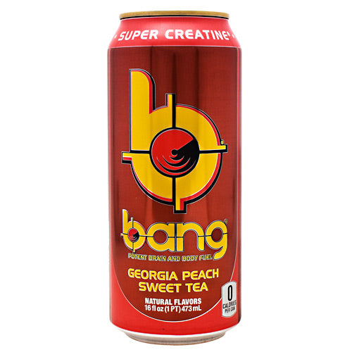 Shop VPX Bang, Georgia Peach Sweet Tea, 16 Fluid Ounce (24 Pack) online  sports-nutrition-endurance-and-energy-drinks