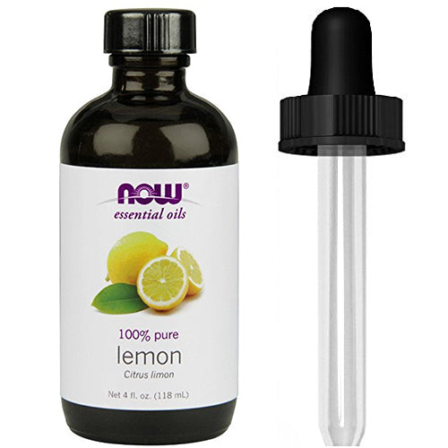 Shop NOW Foods Lemon Oil, 4 Fluid Ounce + 1 Glass Dropper (MB) online  scented-oils