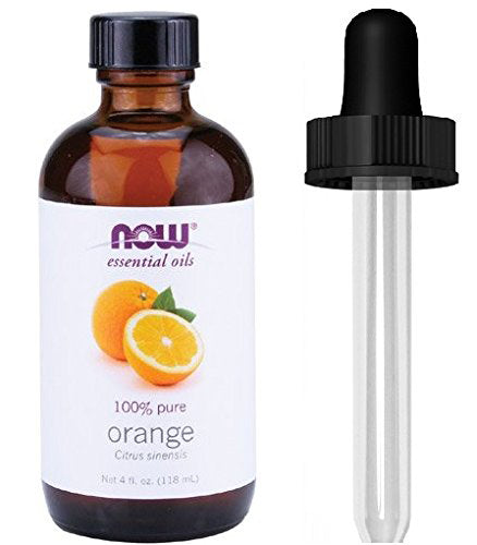 Shop NOW Foods Orange Oil Sweet, 4 Fluid Ounce + 1 Glass Dropper (MB) online  aromatherapy